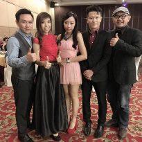 1012016 SV international CNY charity night.goldden dragon boat restauran kl.4 pcs band