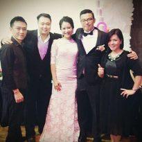 26-12-2015 kenny_sing hooi wedding reception. Aloft Hotel.3 pcs band