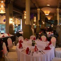 6-11-2016 wedding reception decoration 3 at Gita Bayu.