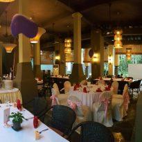 6-11-2016 wedding reception decoration 4 at Gita Bayu.