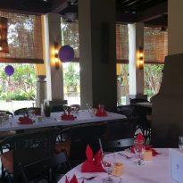 6-11-2016 wedding reception decoration at Gita Bayu.