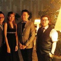 8-12-16 Nicotra Gebhardt award dinner at Le Meriden Putrajaya 3 pcs band plus emcee