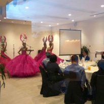 8-12-16 Nicotra Gebhardt award dinner at Le Meriden Putrajaya dancers