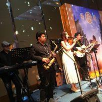 9-1-2016 ys yong_jing yee wedding reception.Kuantan Zenith Hotel. 5pcs band
