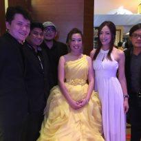 9-1-2016 ys yong_jing yee wedding reception.Kuantan Zenith Hotel. 5pcs band 3