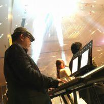 9-1-2016 ys yong_jing yee wedding reception.Kuantan Zenith Hotel. 5pcs band 4